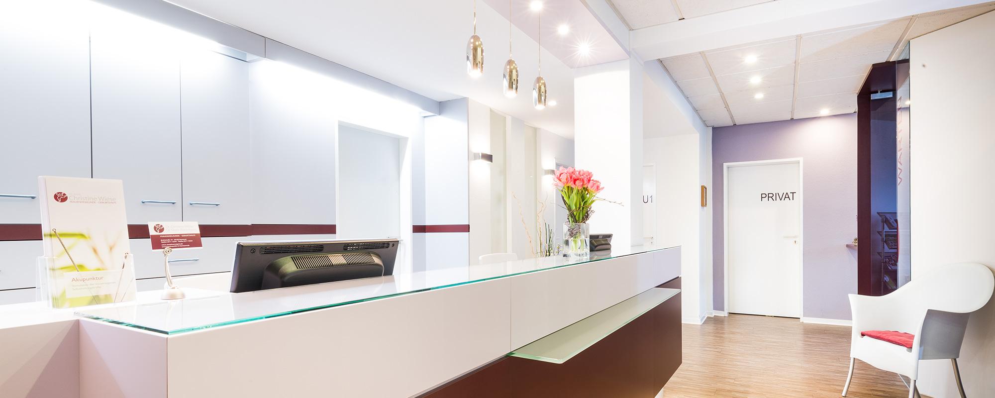 <b>Willkommen</b> in unserer Frauenarztpraxis im Zentrum Hannovers